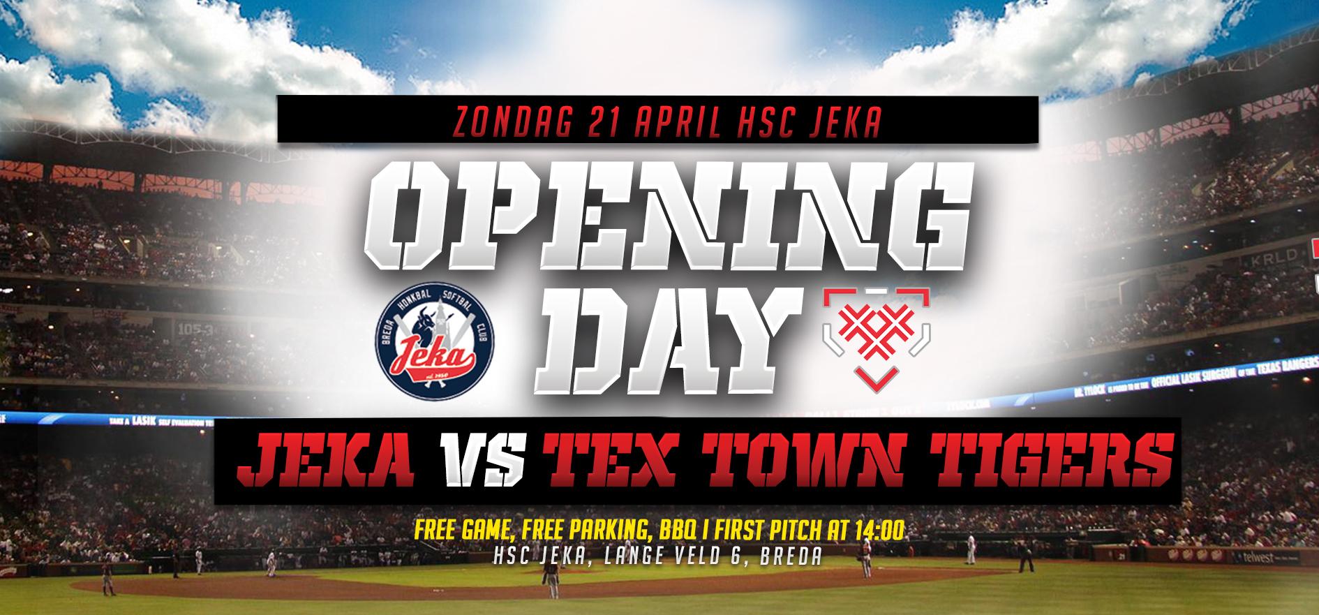 , Opening Day – Eerste Paasdag – Zondag 21 April